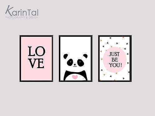Love panda - 3 pic