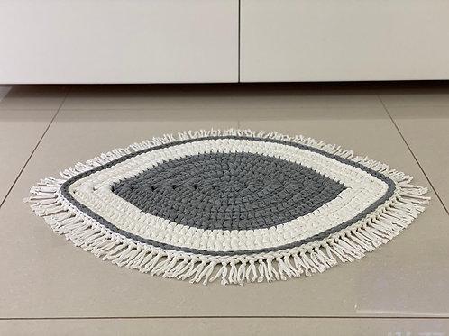 שטיח עין סרוג מחוטי טריקו