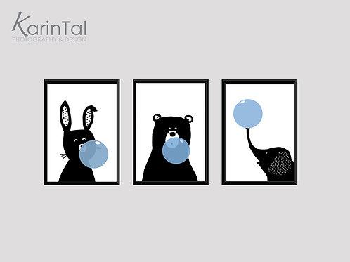 Animals balloons - 3 pic