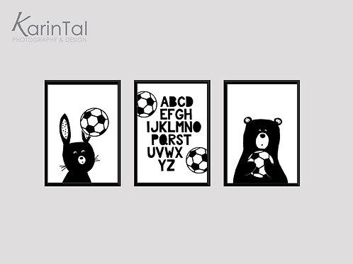animals football - 3 pic