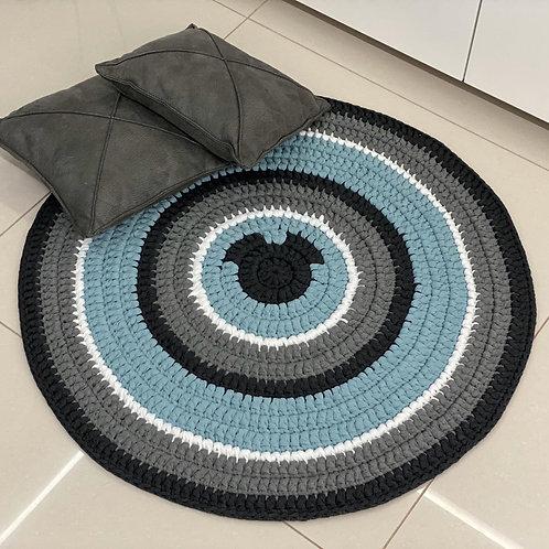 שטיח סרוג מחוטי טריקו מיקי