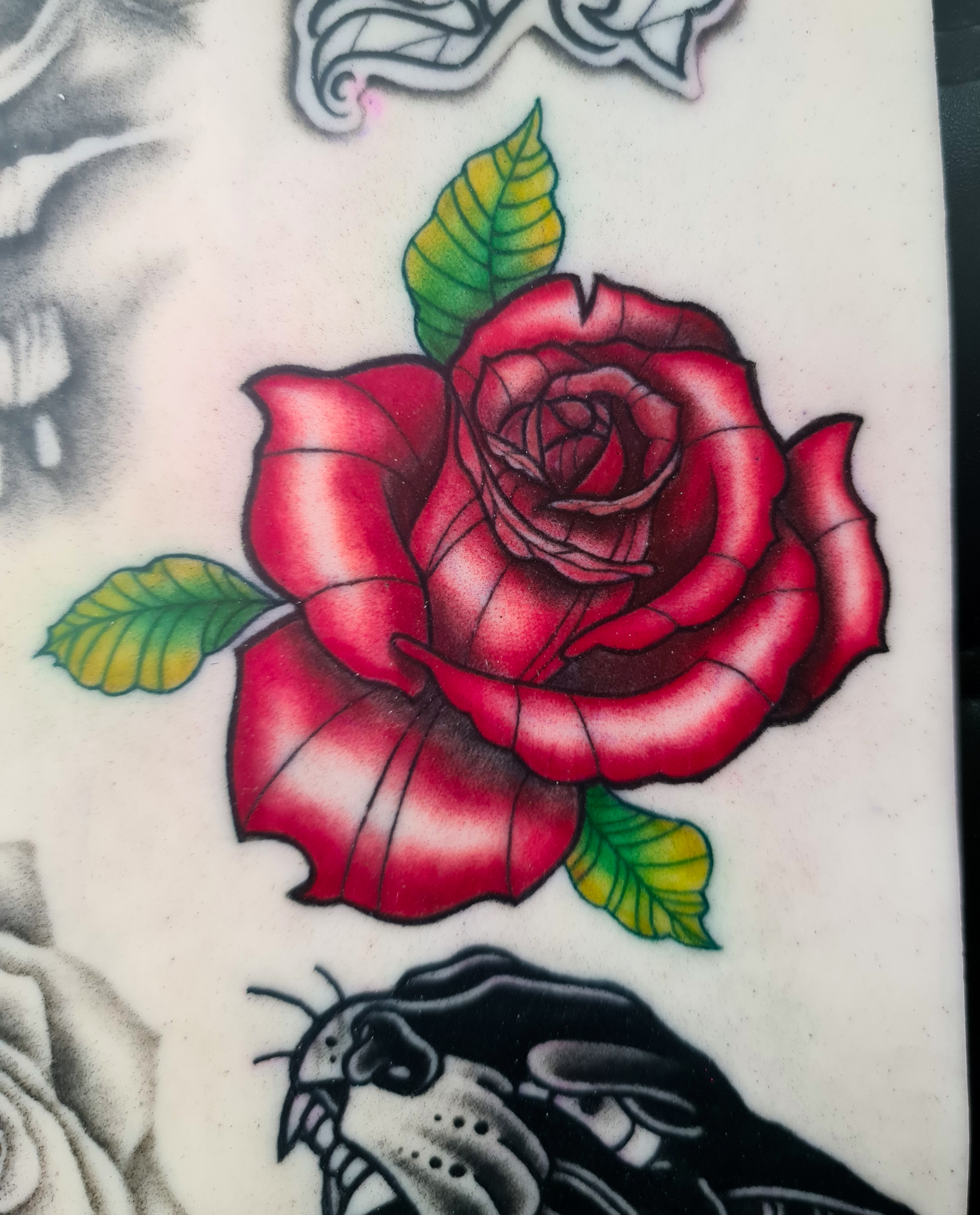 First Colour Tattoo
