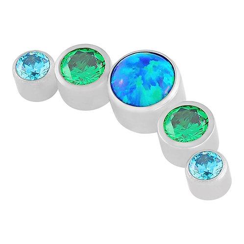 Jade Sea 5 Cluster