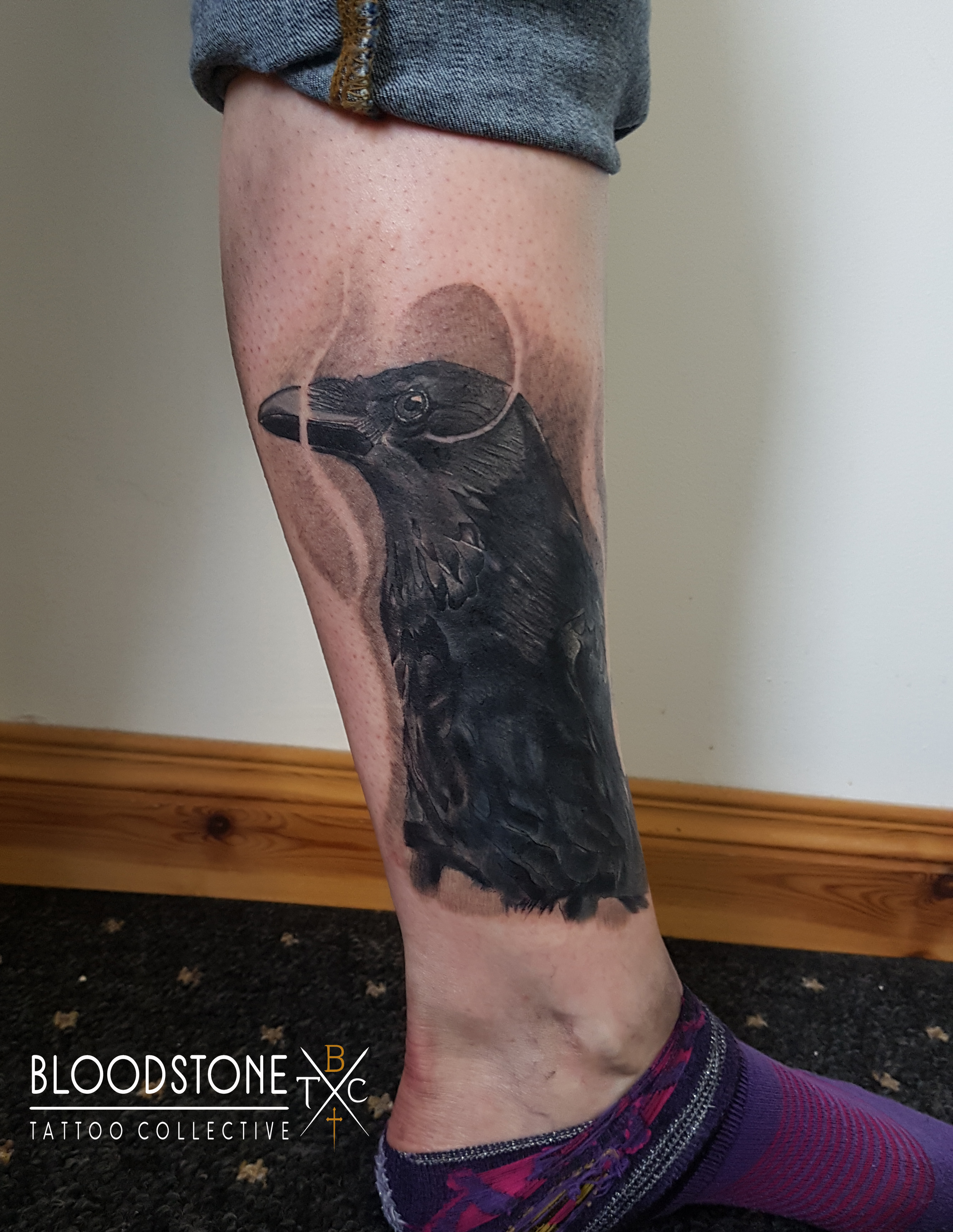 Crow Cover up of a cover up