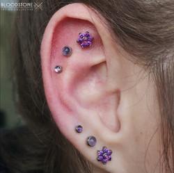 Triple Schapa Curated ear