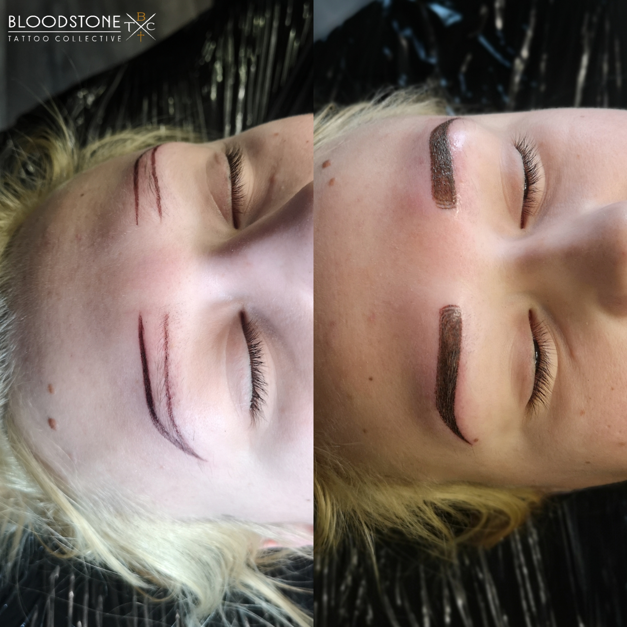 First session Ombre brow