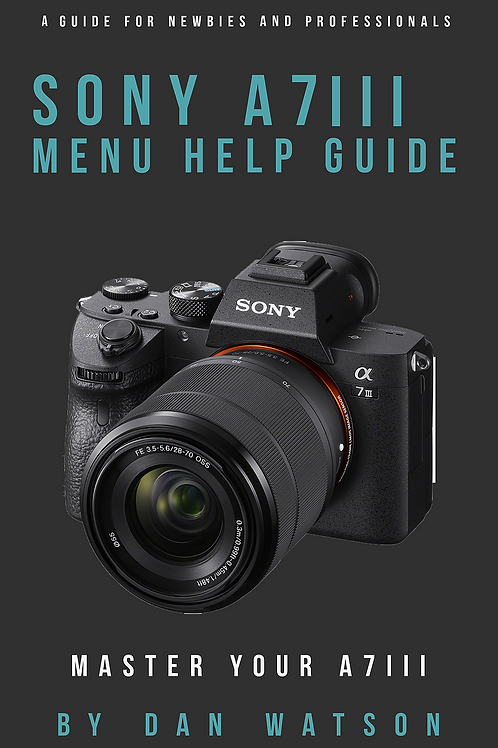 Sony A7III Menu Setup and Tutorial
