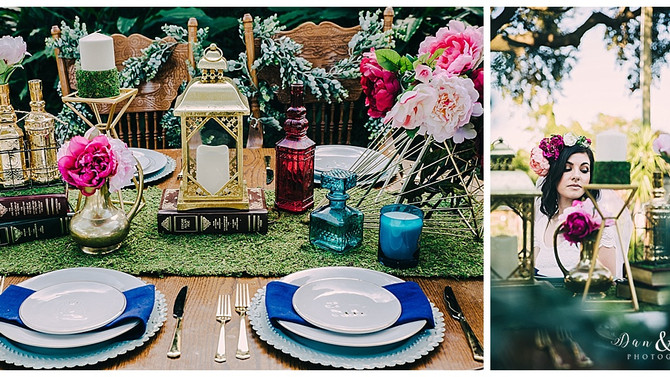 Enchanted Styled Shoot