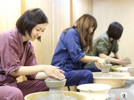陶芸の手習い