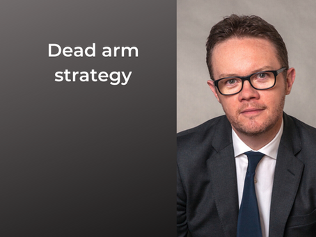 Dead arm strategy