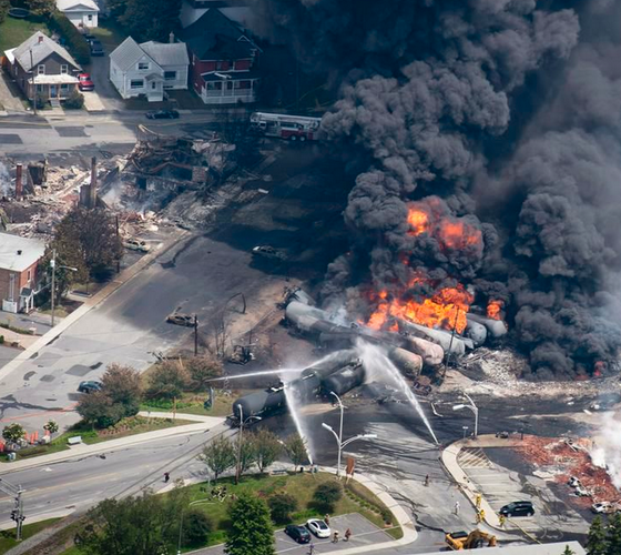 Lac-Mégantic rail bypass to be funded jointly by federal, Quebec governments