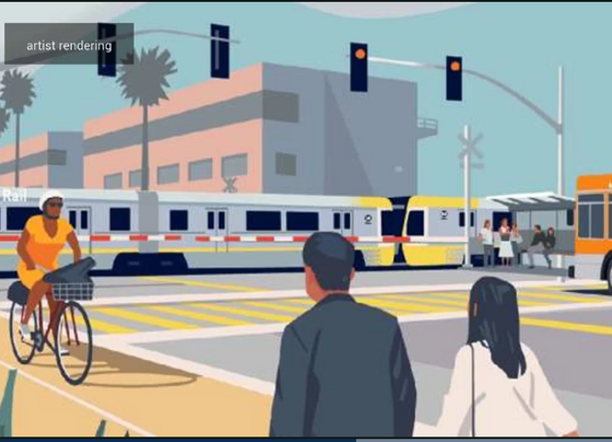 Metro to convert LA railroad line into corridor for pedestrians, bicyclists