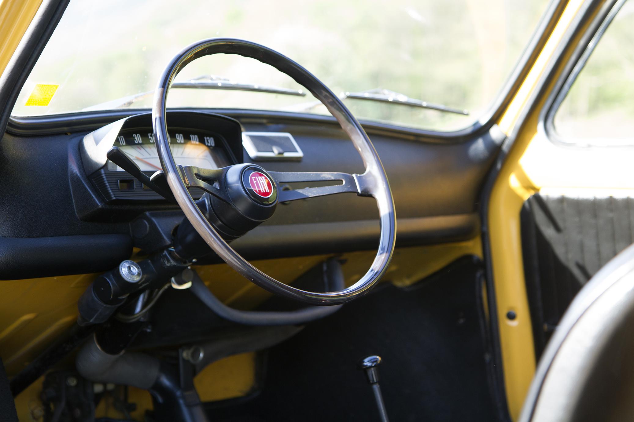 Fiat 500 tableau de bord