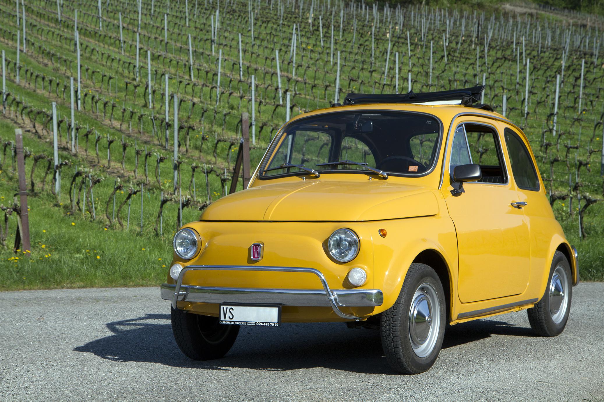 Fiat 500 face