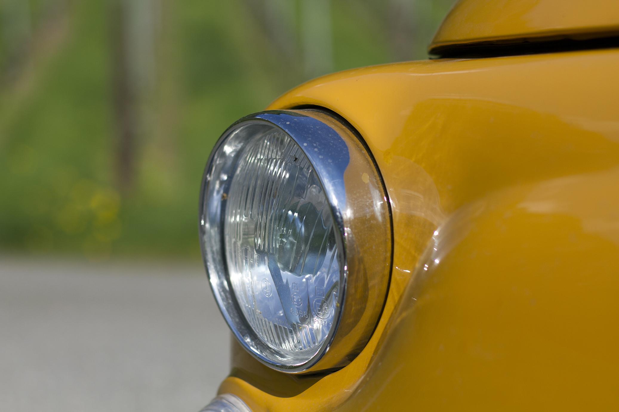 Fiat 500 phare