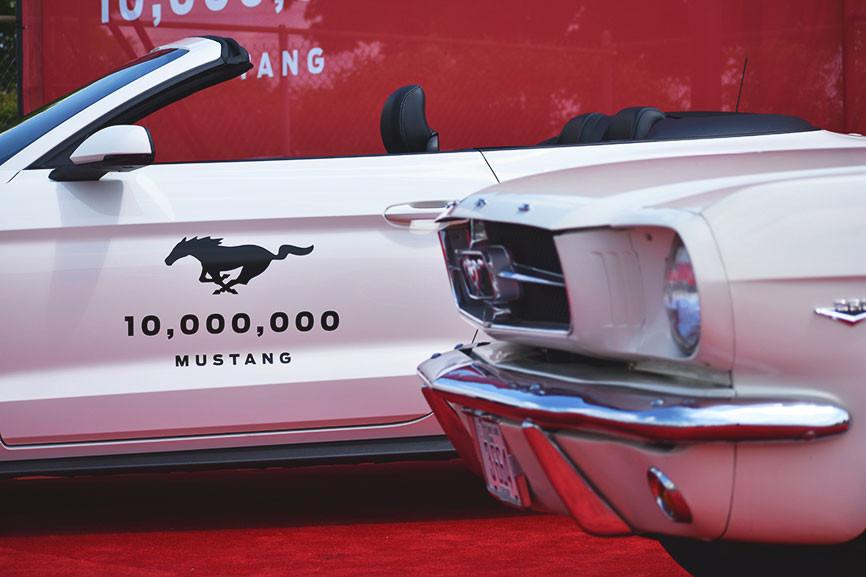 Mustang anniversaire