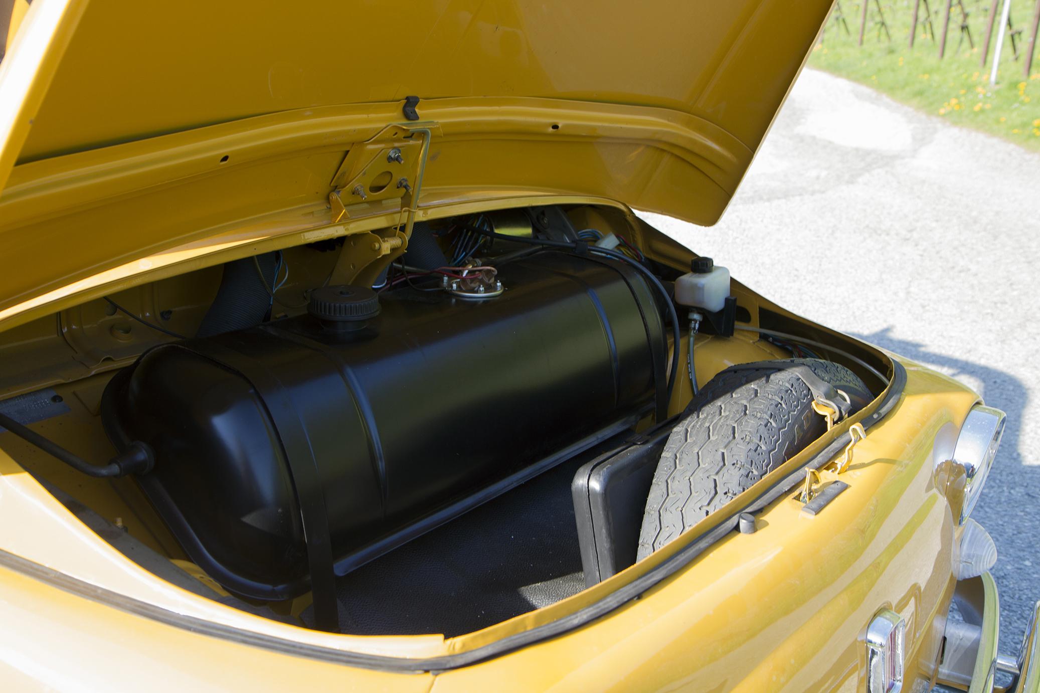 Fiat 500 coffre