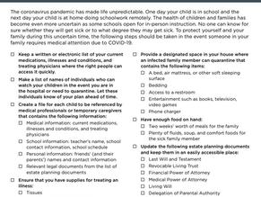 Downloadable Preparedness Checklist