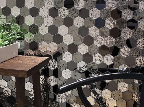 Luxe Mirror Hexagon