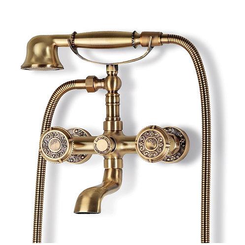 Смеситель для ванной Bronzedeluxe ROYAL 10119