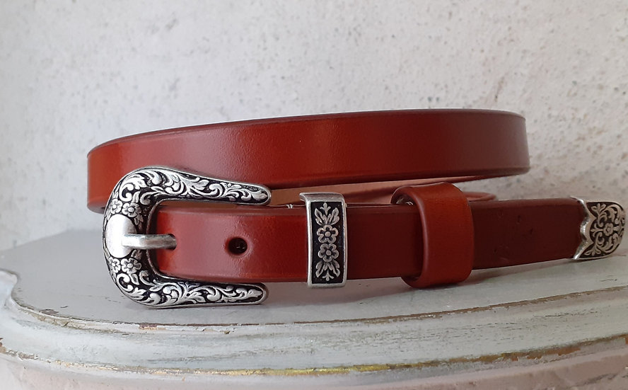 ceinture femme western ( sur commande)