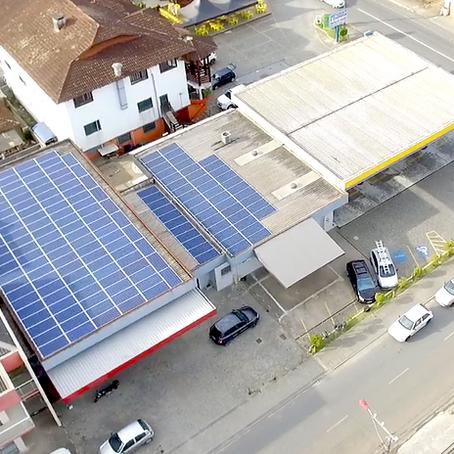 Energia Solar em Postos de Combustíveis