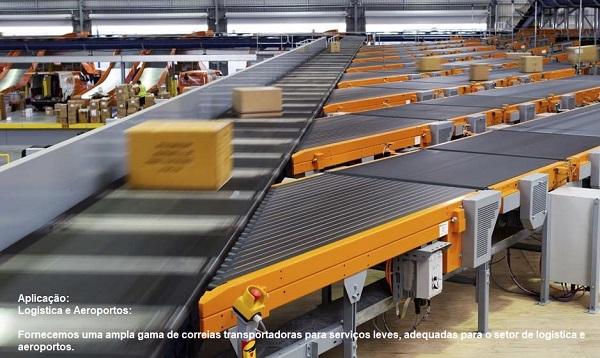 correia transportadora logistica
