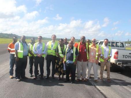 Vanuatu Airport Repairs Completed