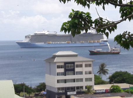 Ovation of the Seas in Vanuatu
