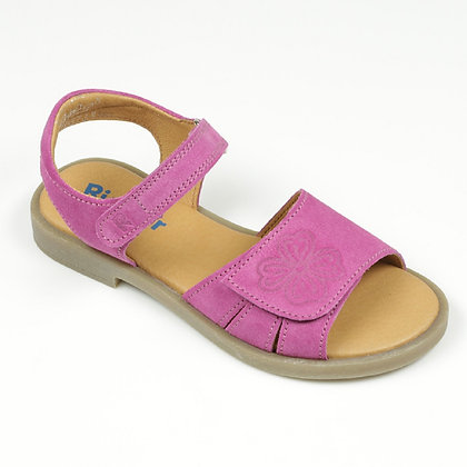 Richter Girl's Pink Rosette Sandal, 5405.7111.33100, From