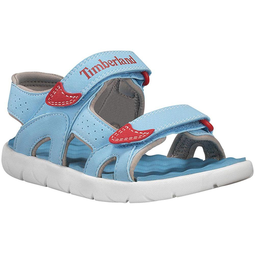 hot sale on feet shots of fashion styles Timberland Perkins Row Sandals, Crystal Seas, Kid's 10 UK | Klodhoppers