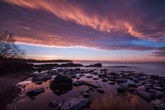 Silver Islet Sunrise