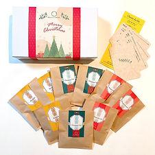B.クリスマスのお茶便り(小包装・箱)