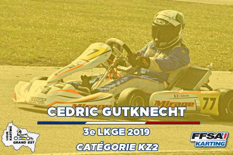 LKGE Cedric KZ2  3e Champion Championnat