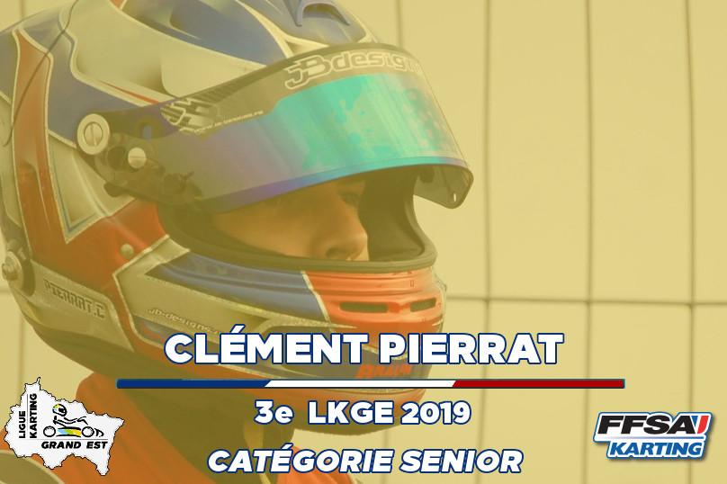 LKGE Clement P 3e X30 Senior  Championna