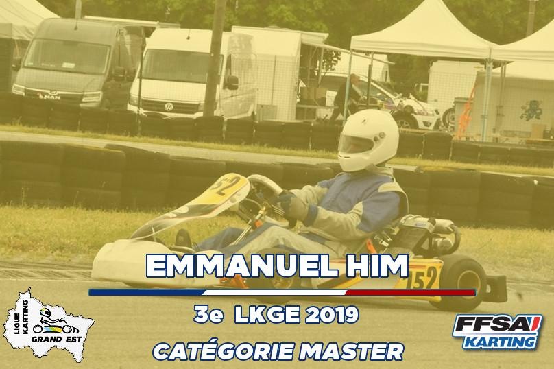 LKGE Emmanuel 3e X30 Master Championnat