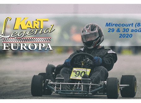 Kart Legend Europa - Règlement et Briefing