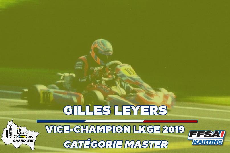 LKGE Gilles X30 Master vice Champion Cha