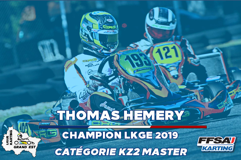 LKGE Thomas KZ2 Master  Champion Champio