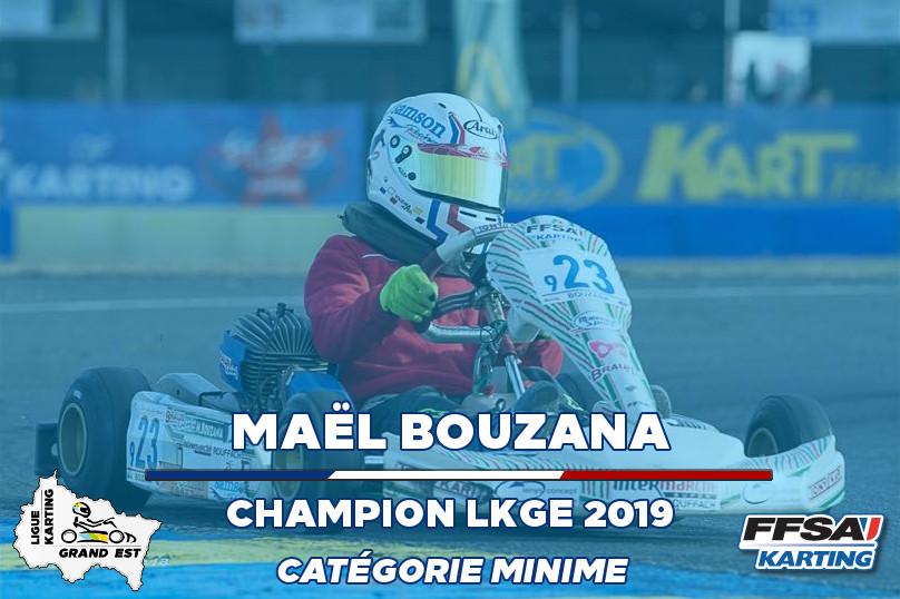LKGE Mael Minime Champion Championnat Ka