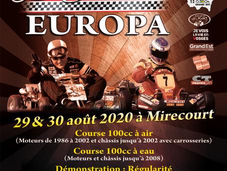 Kart Legend et Europa Vintage font cause commune