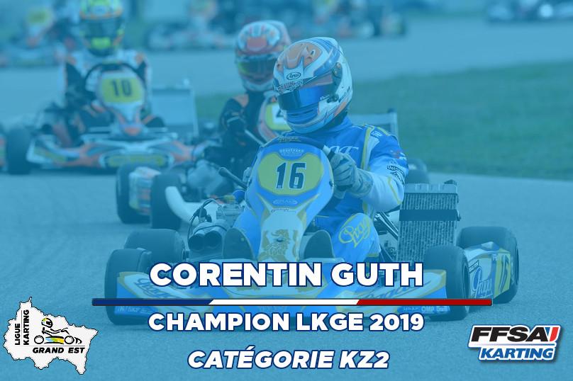 LKGE Corentin KZ2  Champion Championnat