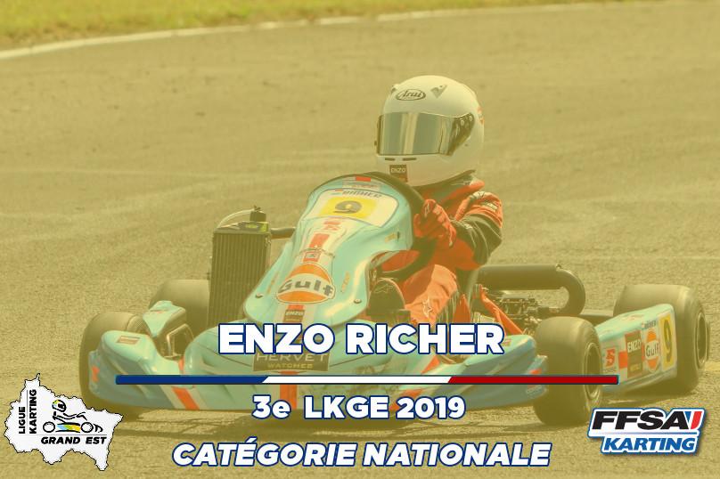 LKGE Enzo Nationale 3e Championnat Karti