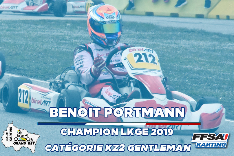 LKGE Benoit KZ2 Gentleman  Champion Cham