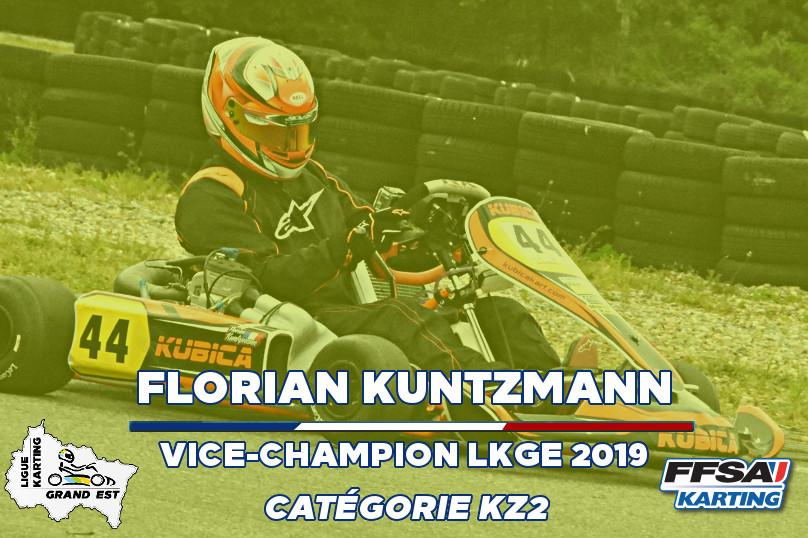 LKGE Florian KZ2  Vice Champion Champion