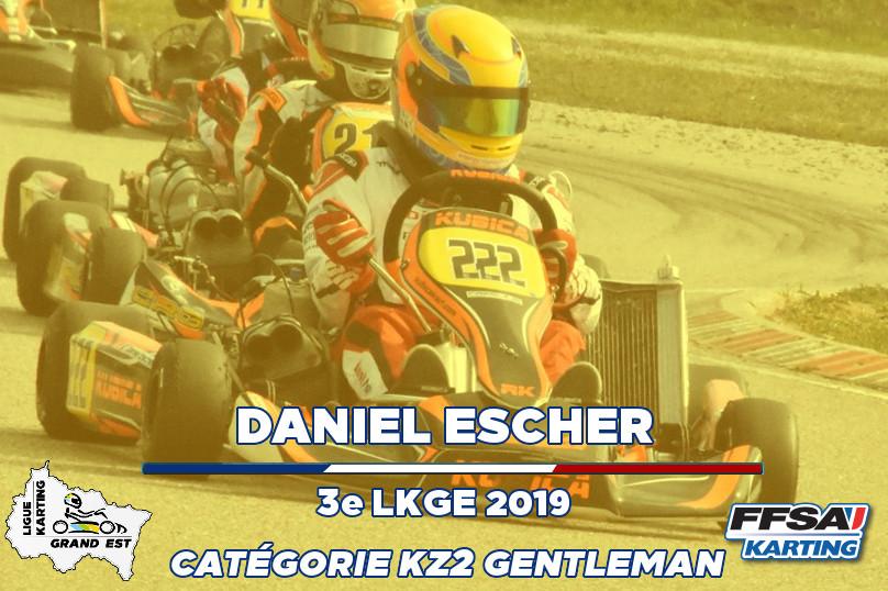 LKGE Daniel KZ2 Gentleman  3e Championna