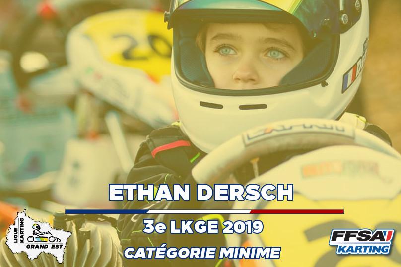 LKGE Ethan Minime 3e Championnat Karting