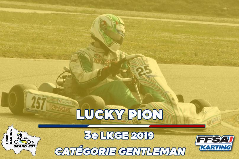 LKGE Lucky 3e X30 Gentleman Championnat