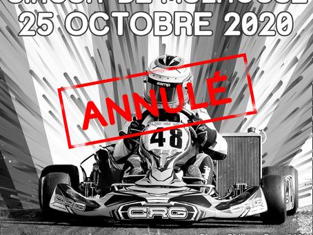 Annulation du Trophée du Grand-Est #2 - Mulhouse