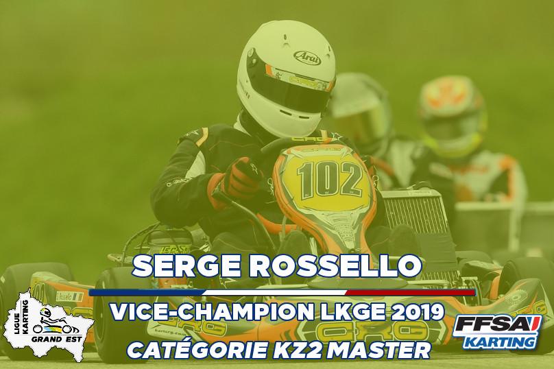 LKGE Serge KZ2 Master  Vice Champion Cha